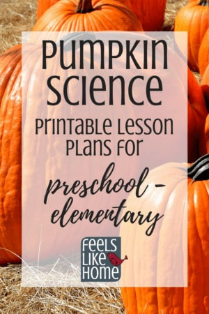 Fun pumpkin lesson plans for kids - Awesome unit plans for teaching about the math and science of pumpkins in preschool, kindergarten, or even 1st, 2nd, or 3rd grade. Includes a book list, experiment, investigation, and activities for math, science, literacy, and other connections. Perfect for fall unit study or theme.