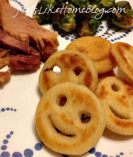 McCain Smiles Potatoes
