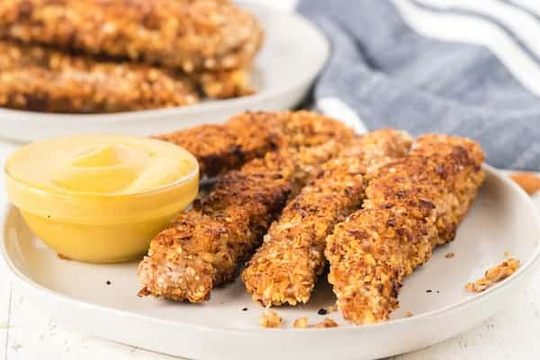 cooked gluten free chicken fingers