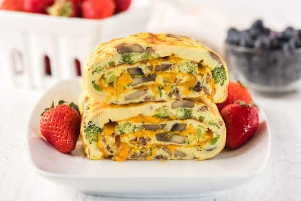 sausage omelet roll