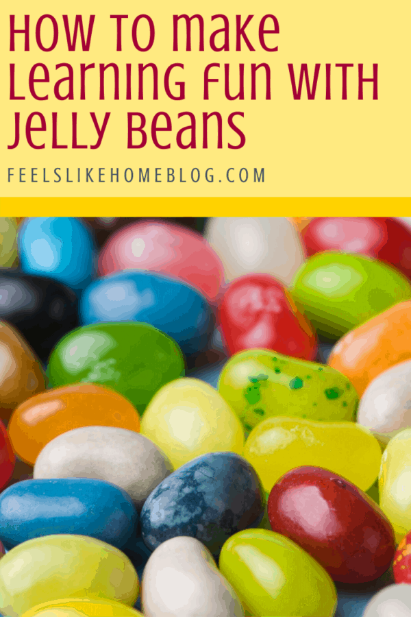 Jelly Bean Math - Great learning activities for kids of any age including preschool, kindergarten, first grade, and second grade. Includes free printables. Fun way to learn math concepts like sorting, graphing, addition, subtraction, and even probability. Great ideas for teachers in classrooms or at home. How to make learning fun with candy.