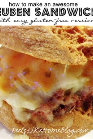 How to Make Reuben Sandwiches (Gluten-Free Option)