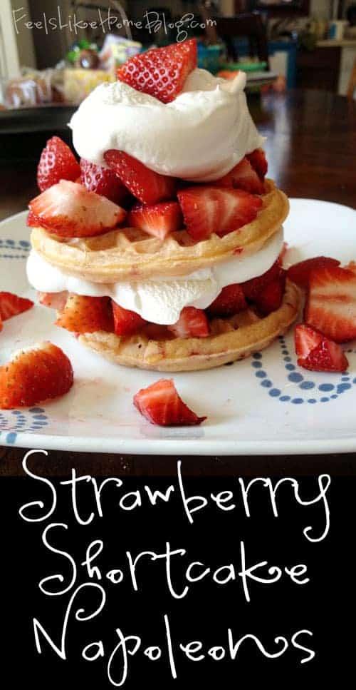 Strawberry Shortcake Napoleons
