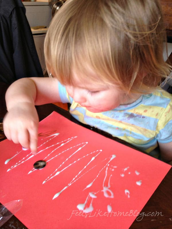 toddler button craft