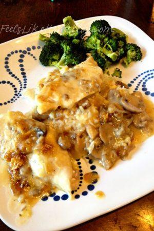 Easy Swiss Cheese Chicken Recipe