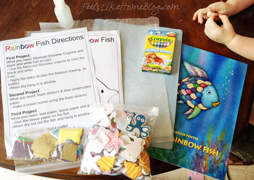 Activities to go with The Rainbow Fish by Marcus Pfister