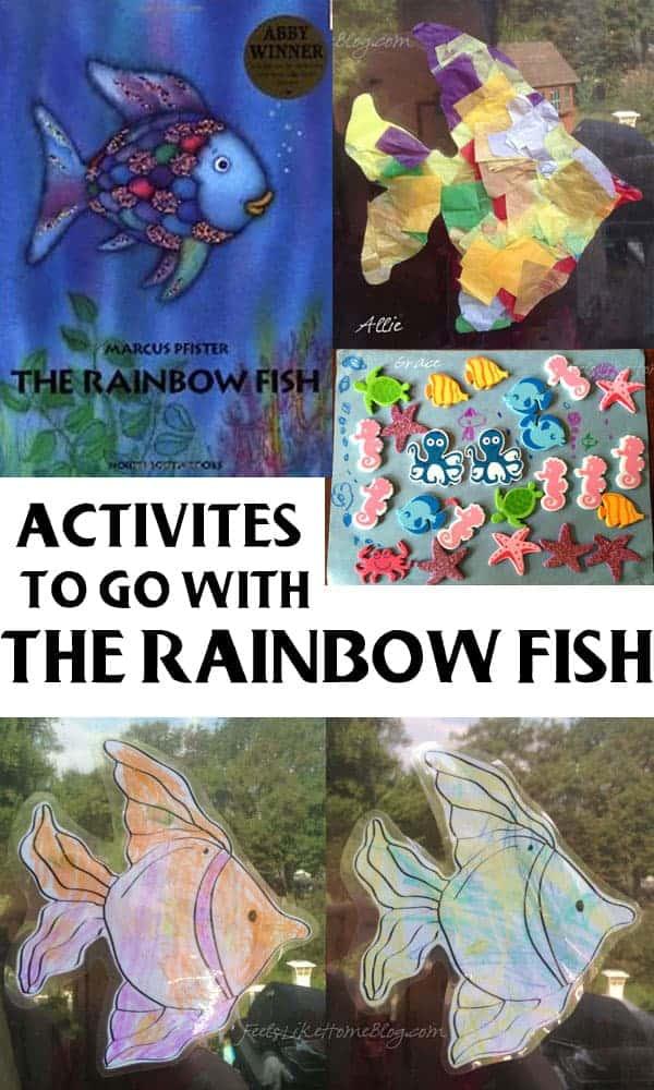 The educators 39 spin on it 8 animal books activities for Rainbow fish activities