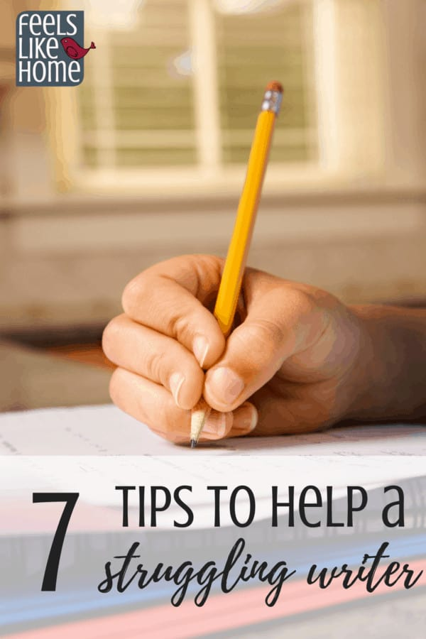 7 tips for to help struggling writers - Whether they are in first, second, third, fourth, fifth, or sixth grade, or in middle or high school, children need help and support to learn to write well. These thoughts, ideas, and truths will help students to breathe life into their words by overcoming their writing problems and learning to write for fun.