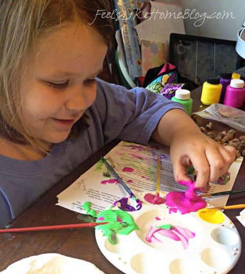big-kids-painting-acorn-craft