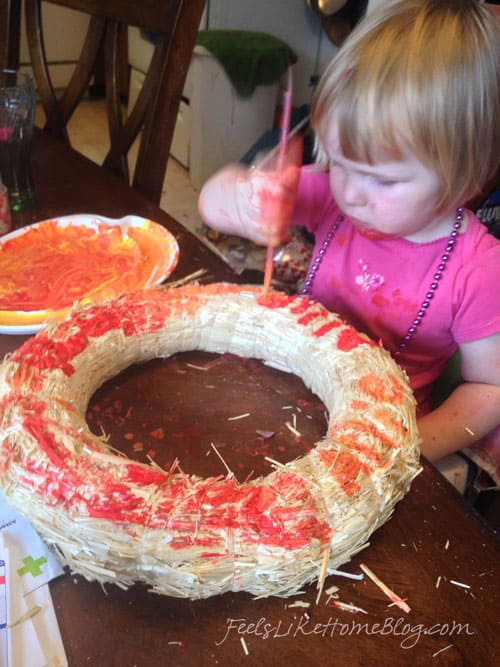 painting-wreath-mess