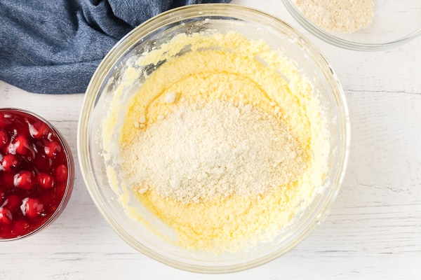 flours added to wet ingredients