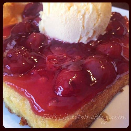 Cherry Almond Cake - Gluten-Free