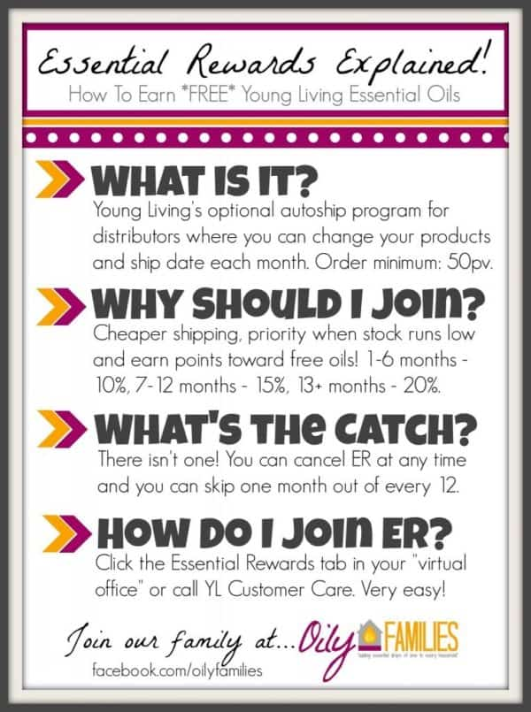 Why Join Young Living Essential Oils Essential Rewards?