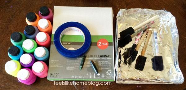 Cross resist painting materials