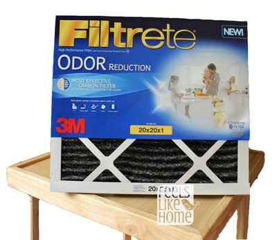Freshen Your Home with Filtrete Odor Reduction Filters