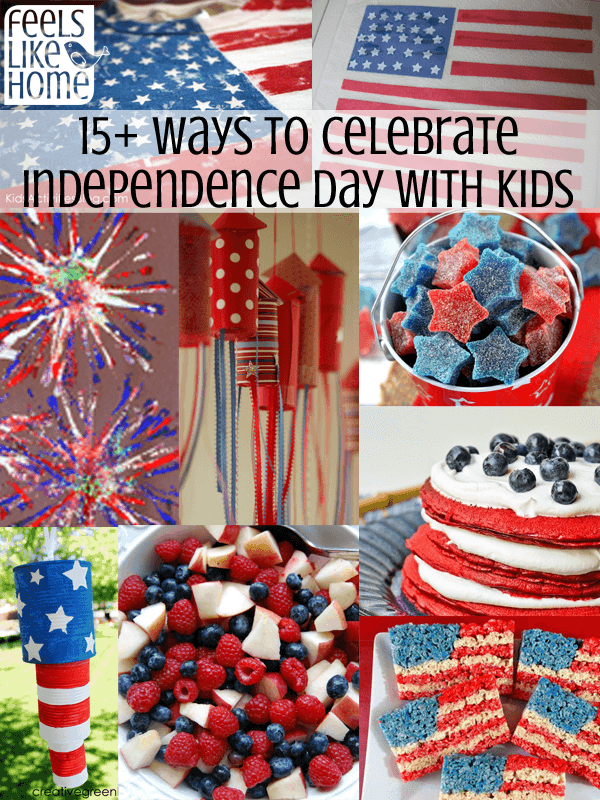 How to Celebrate July 4th with Kids