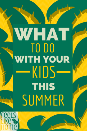 what to do with my kids this summer