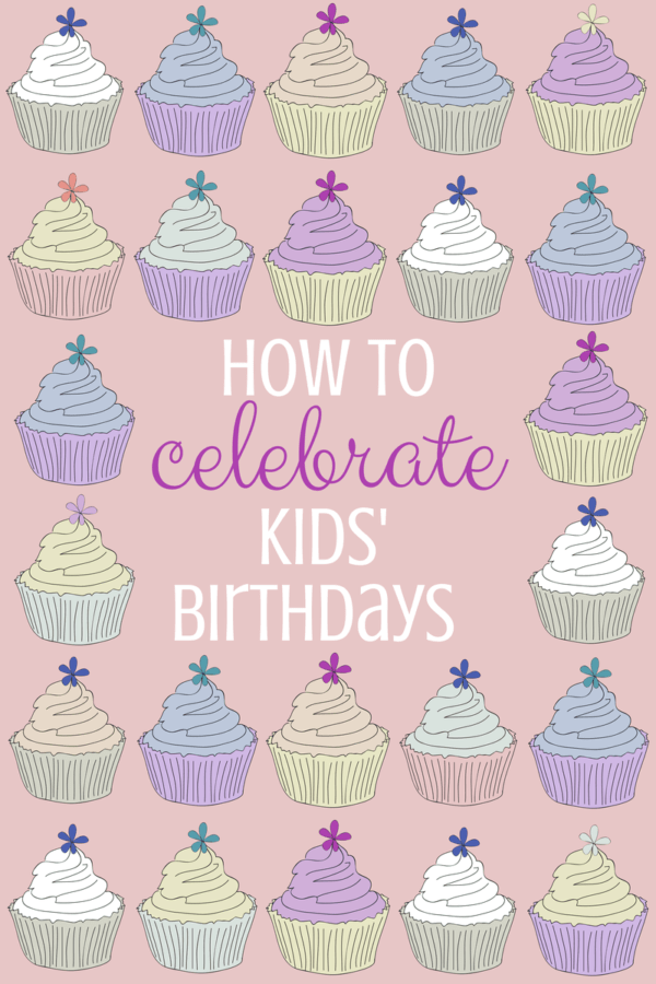 Simple traditions and ideas to celebrate your child on her birthday. Kids need special attention especially on their birthdays. These easy activities and decorations are great for a boy or a girl and will make him or her feel great. Includes ideas for birthday morning as well as dinner and cake.
