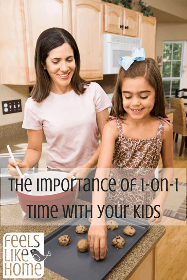 The importance of one-on-one time with kids - Moms and dads know that parenting is hard, but spending devoted one on one time with each child each day is a surefire way to make it a little easier. This time has huge benefits, and this article explains some of them.