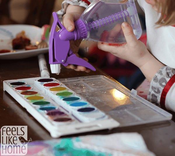 spraying-watercolors