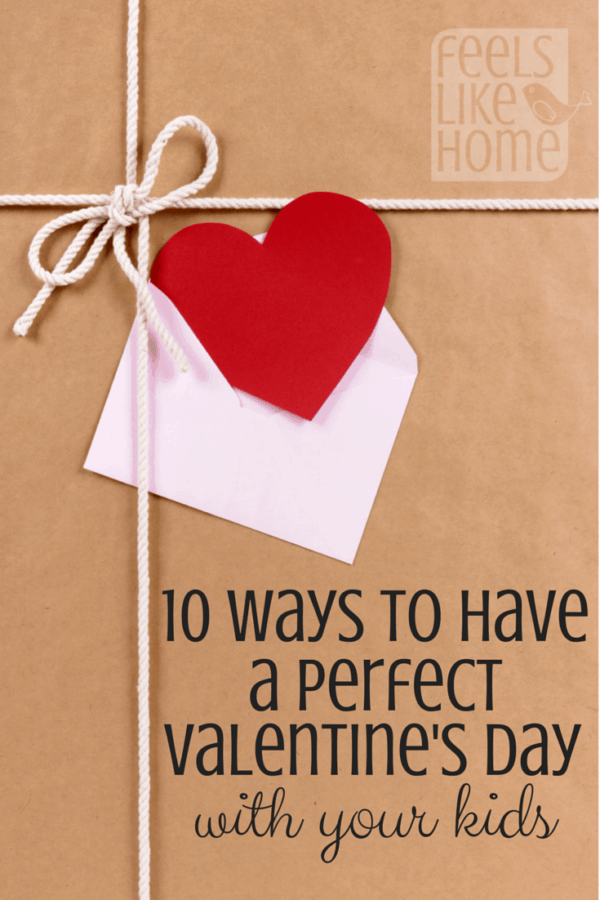 It is possible to have a simple, inexpensive Valentine's Day with your kids! These cute ideas include food (no candy!), activities, crafts, and more.