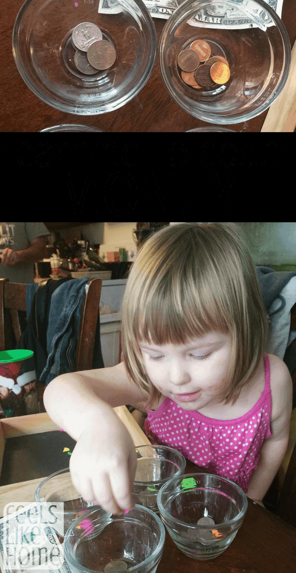 Learning To Count Money  U2013 Preschool Sorting Activity