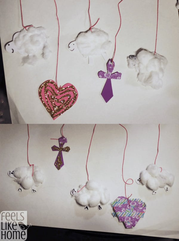 Lamb of God - Sheep craft perfect for preschoolers and older kids!