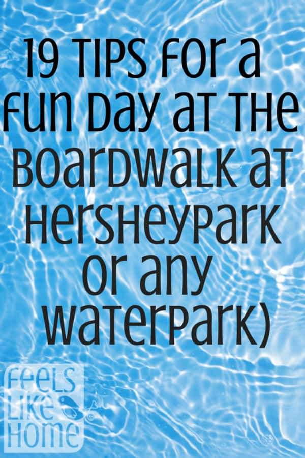 How do you survive a day at the water park with your sanity intact? Here are 19 tips to make your day a little easier. If you are traveling to Pennslyvania, you must stop in Hershey PA at Hersheypark amusement park and Boardwalk Water Park! Tips to travel and have fun with kids and adults. Summer is the best time to visit, but spring and fall are still nice! Great family vacations. Don't miss these insider tips!