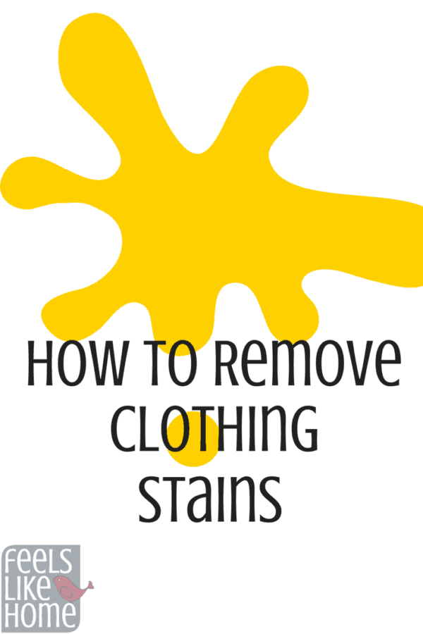 How to remove stains from clothes in the laundry - This applies to oil stains, ink stains, and more. It tells you how to get out lots of things the easy way!