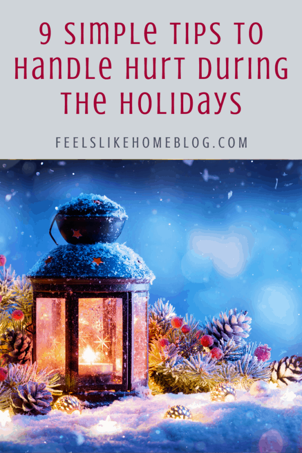 The holiday season is a tricky time for people who have sick relatives or who have lost loved ones. This encouraging post will help you look at the weeks ahead with hope and peace.