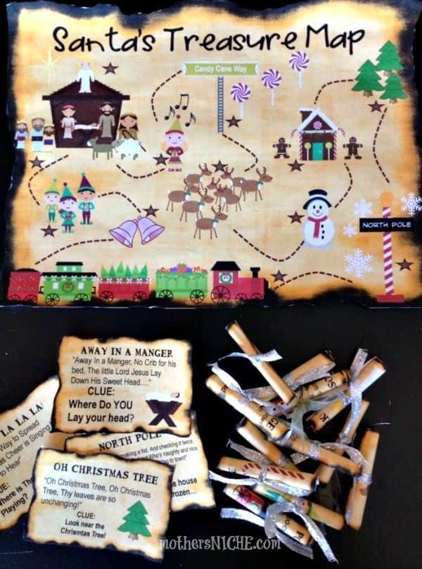 Santas-Treasure-Map