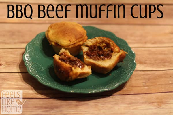 I would have never thought of this, but it is amazing! A sweet and savory BBQ beef mixture tucked inside Grands! flaky biscuits! You will love them!