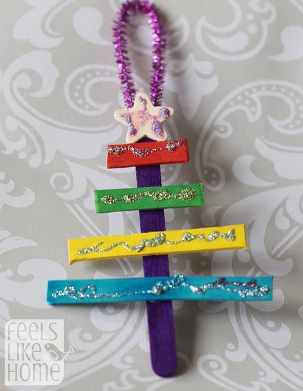 christmas-tree-crafts-for-preschoolers-popsicle-sticks-glitter-glue-allie