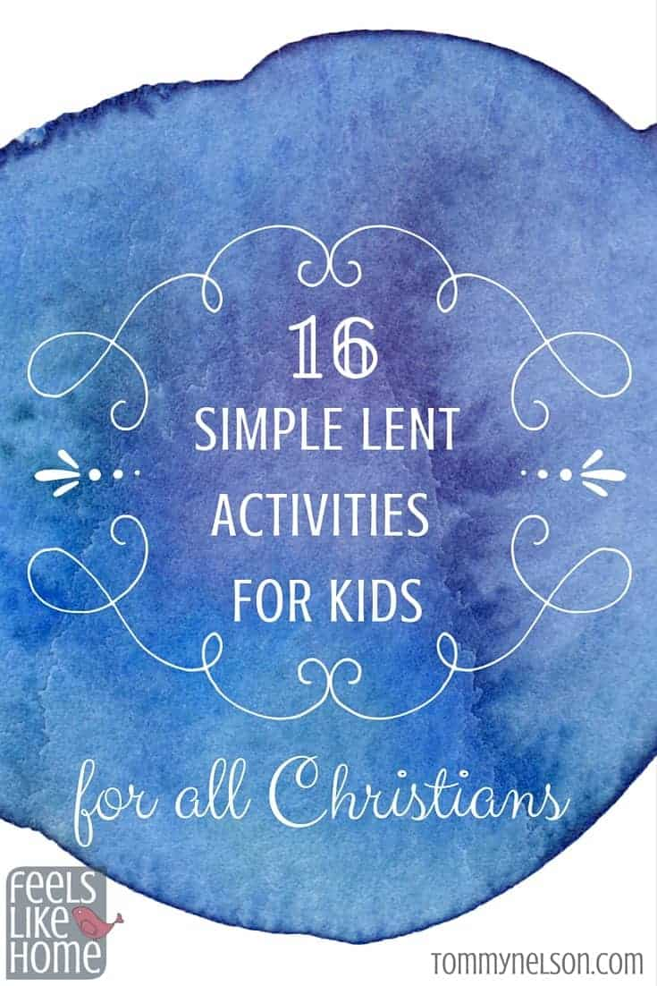 16 Simple Hairstyles For Long Hair: 16 Simple Lent Activities For Kids For All Christians