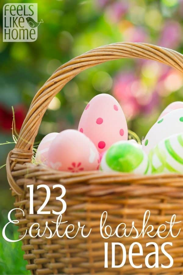 This is the ultimate list of Easter basket ideas for boys, girls, and kids of all ages! Lots of unique, non-candy, and cheap ideas as well as a few old favorites.