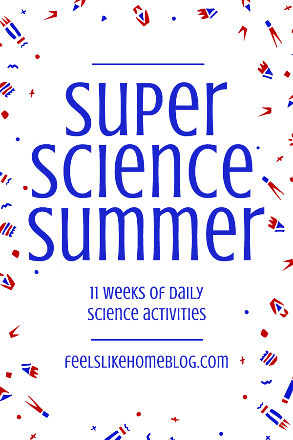 This is awesome! 11 weeks of science activities - perfect for the summer and all year! These will keep the kids busy forever!