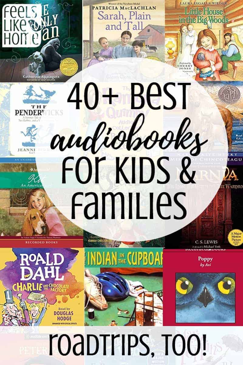 Wow, such a great list! These are the best audiobooks for kids and families! There are so many new and classic books here, definitely something for everyone for road trips or just listening at home. All roadtrips are better with audio books! Everything from fun books to serious ones. Great to listen with your parents.