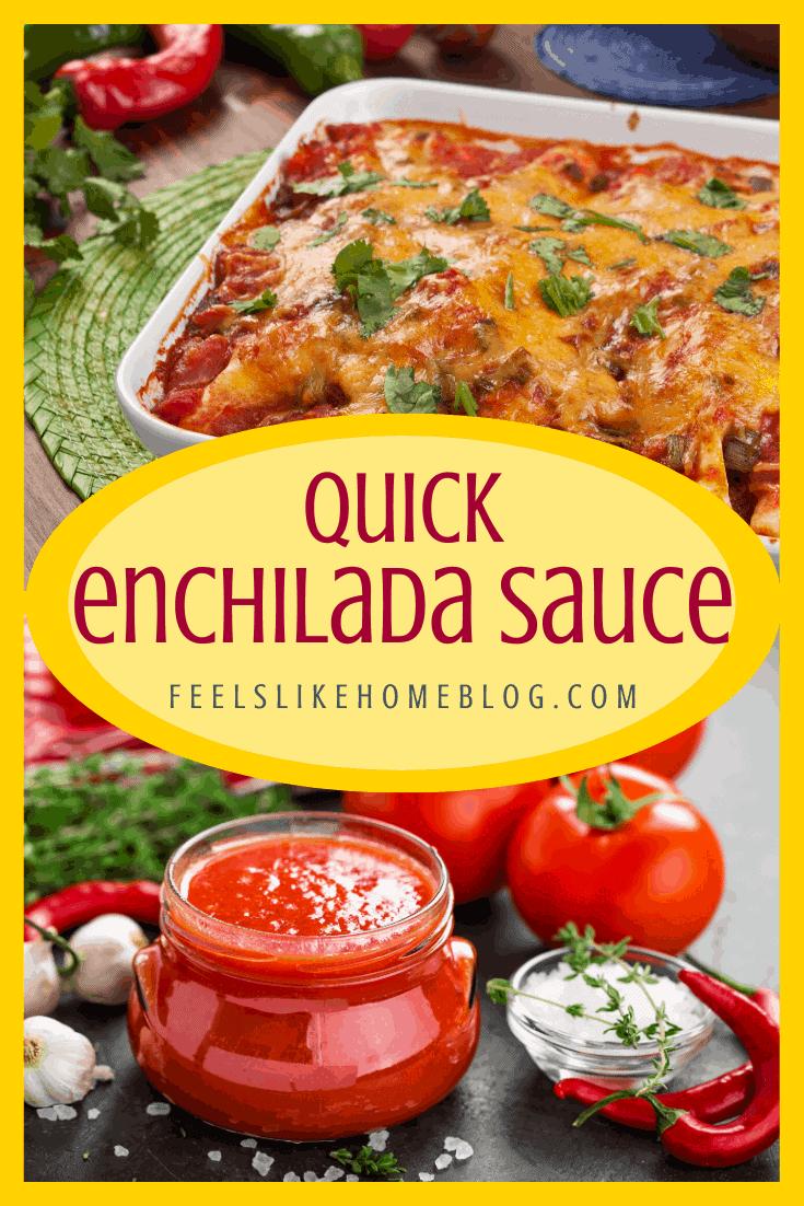Quick & Easy Enchilada Sauce Recipe