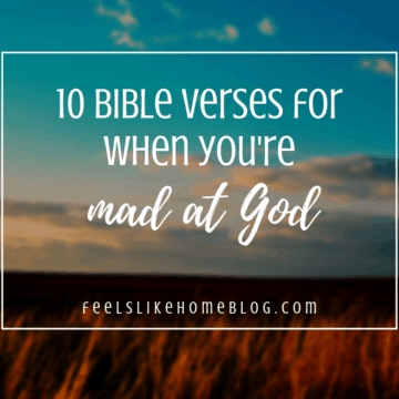 You need to hold tight to your faith when you're mad at God. These encouraging Bible verses and quotes will help you to like you're not alone in your anger and will help you to get to a better place.