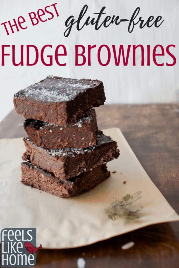The best gluten free fudge brownie recipe - These simple and easy brownies are fudgy and moist and made with glutenfree buckwheat flour. These treats make a great dessert. Ingredients include chocolate, butter, sugar, vanilla, eggs, and unsweetened cocoa powder.