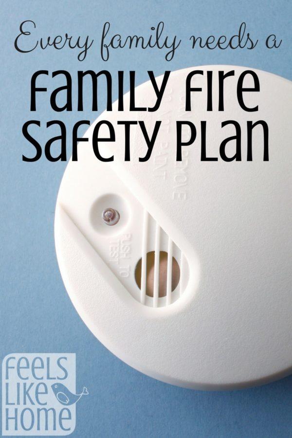 A close up of a smoke detector