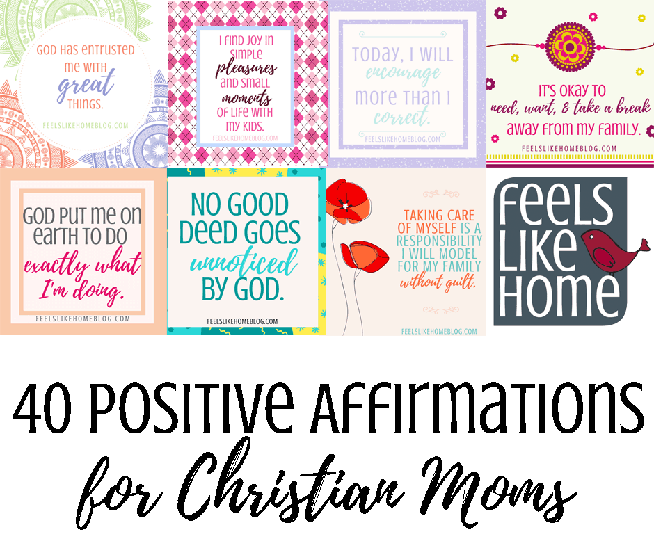 A collage of positive affirmations