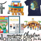 51 awesome Christian Christmas gifts for kids - Wondering what to get your kids for the holidays? This post is full of tips and ideas for buying Xmas gifts that bring children back to Jesus without lame presents.