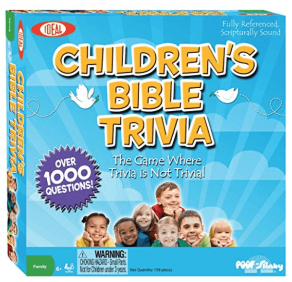 Children\'s Bible Trivia game