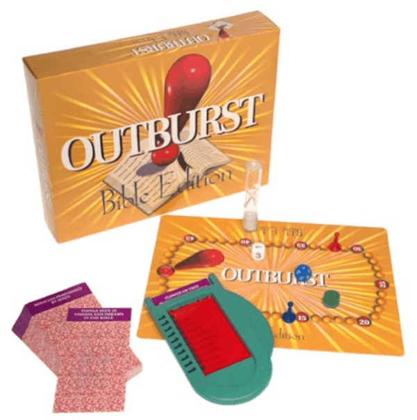 Outburst Bible edition game