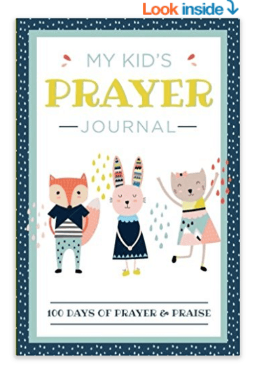 A kids\' prayer journal