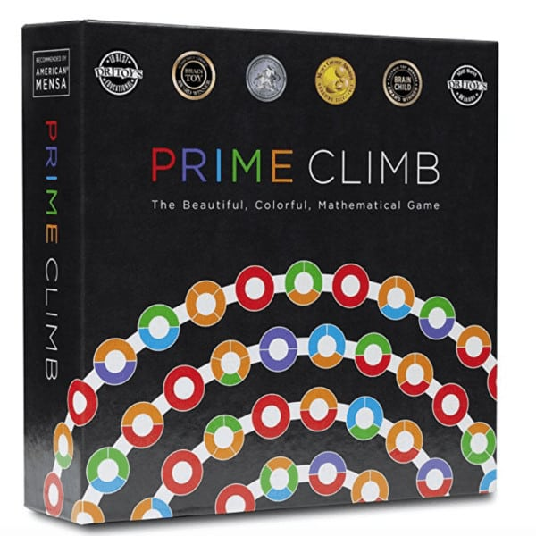 best board games for elementary school non-readers math prime climb