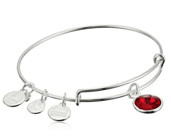 A bracelet on a table