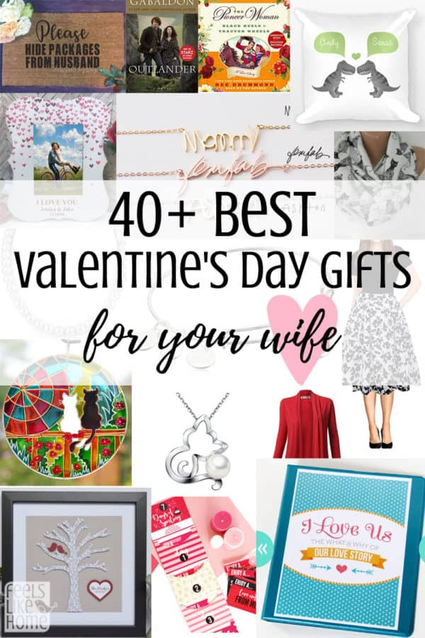 Collage of Valentine\'s day Gift ideas for women