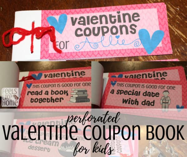 photograph about Printable Coupons for Kids identify Totally free Printable Valentines Coupon E-book for Children Feels Together with